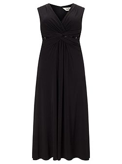 Plus Size Sophie twist lace maxi dress