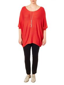 Plus Size Beth batwing jumper