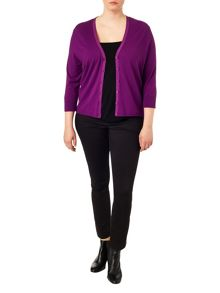 Studio 8 Plus Size Jeni v-neck cardigan