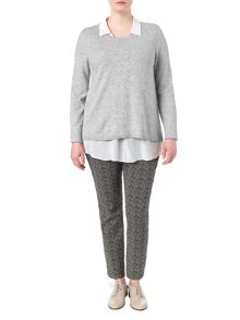 Studio 8 Plus Size Fern 2-in-1 jumper