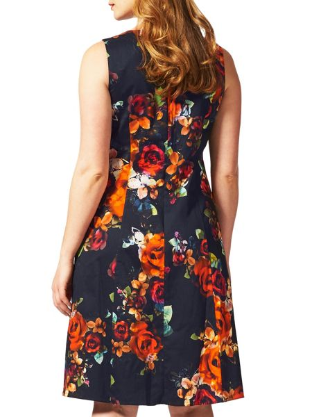 Studio 8 Plus Size Harper print dress