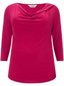 Studio 8 Plus Size Verity cowl neck top