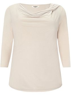 Plus Size Verity cowl neck top