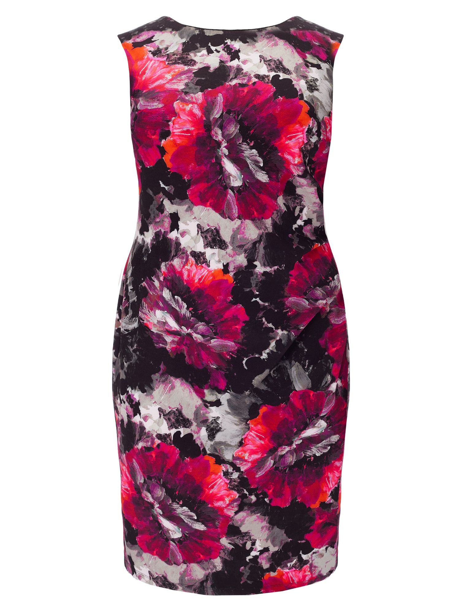 Studio 8 Plus Size Pippa print dress, Multi-Coloured