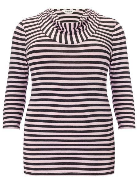 Studio 8 Plus Size Suki stripe top