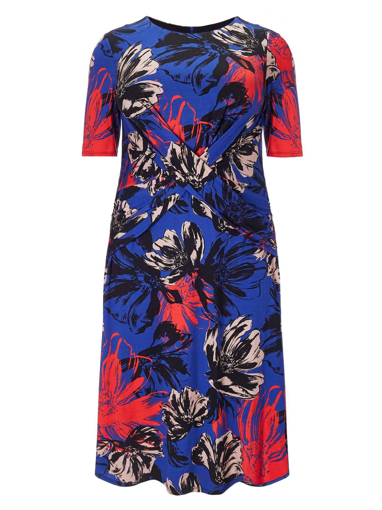 Studio 8 Plus Size Lauren floral dress, Multi-Coloured