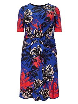 Plus Size Lauren floral dress
