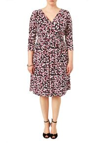 Studio 8 Plus Size Charlotte cherry print dress