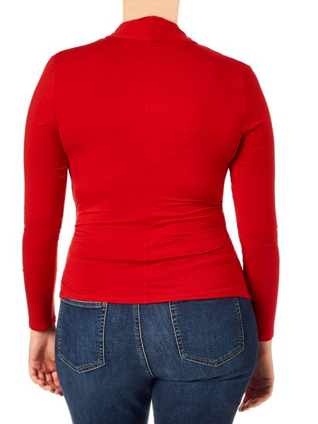 Studio 8 Plus Size Agatha ruched jersey top