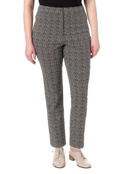 Studio 8 Plus Size Alexa jacquard trousers