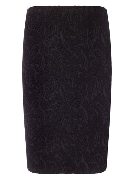 Studio 8 Plus Size Mona textured skirt