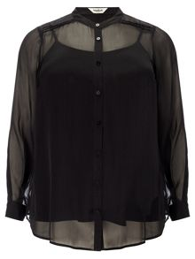 Chiara button down blouse