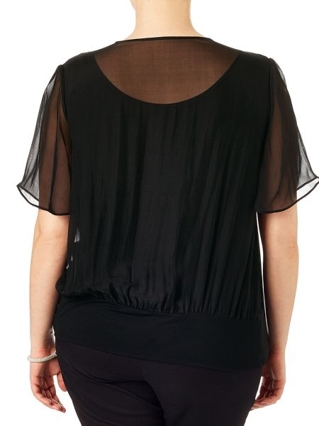 Studio 8 Beatrice wrap blouse