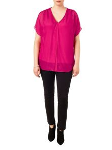 Plus Size Tessa v-neck blouse