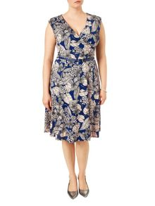 Studio 8 Plus Size Estelle jersey dress