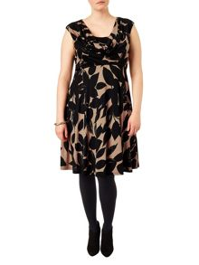 Plus Size Joey floral dress