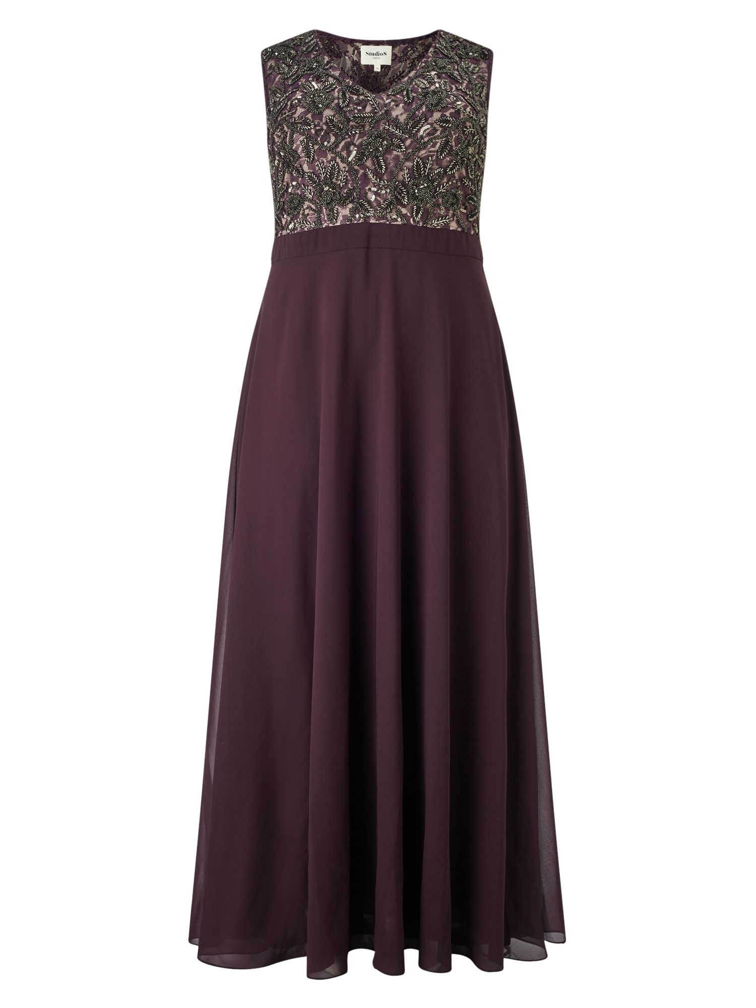 Studio 8 Nadia dress, Purple
