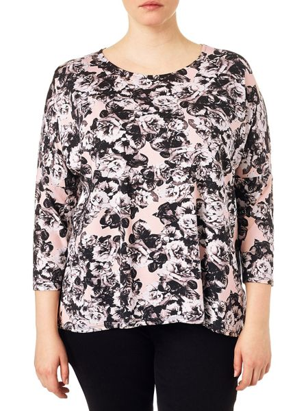 Studio 8 Plus Size Annie floral top