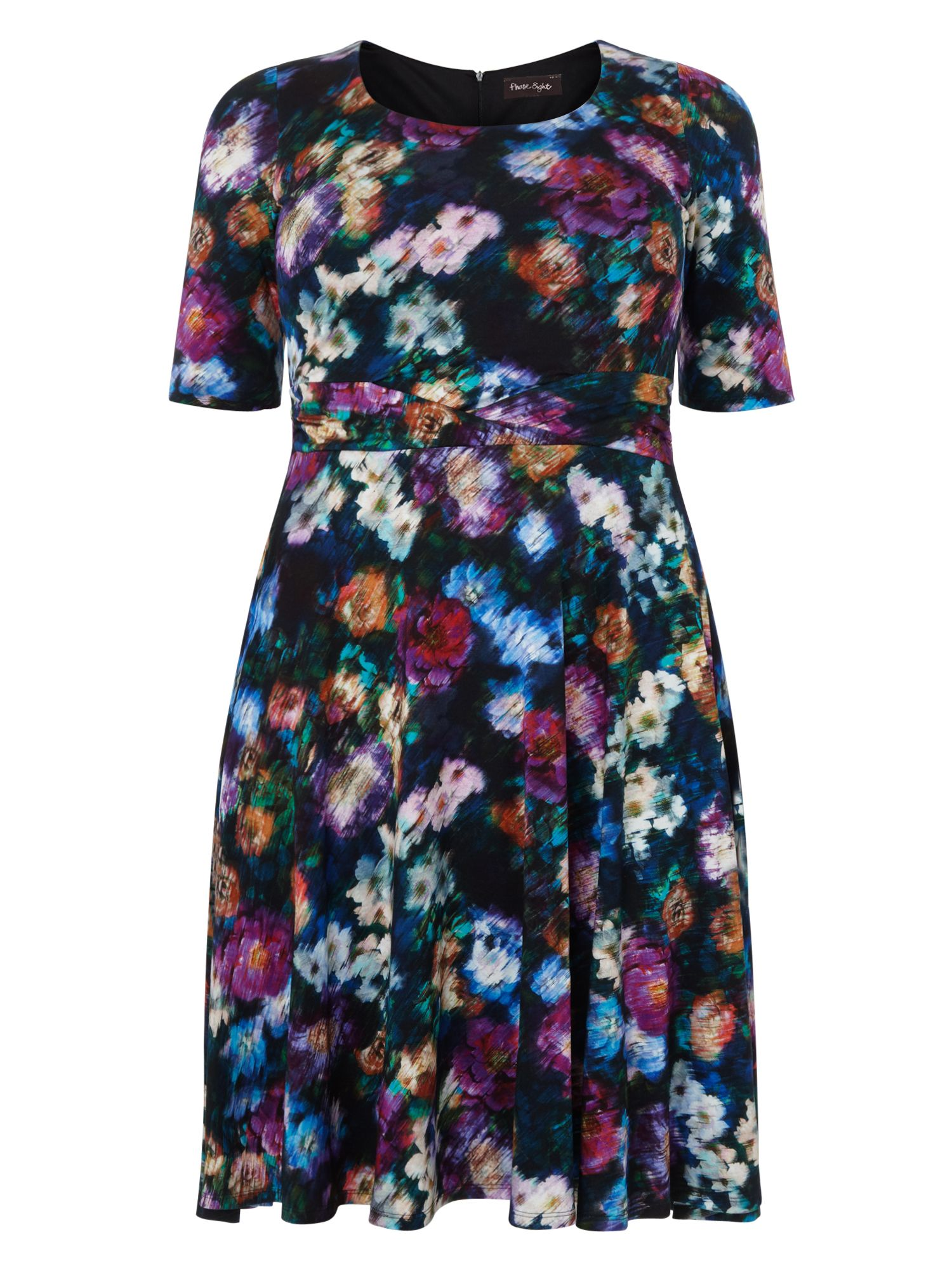 Studio 8 Macie print dress, Multi-Coloured