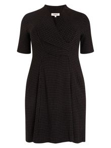 Selina check dress