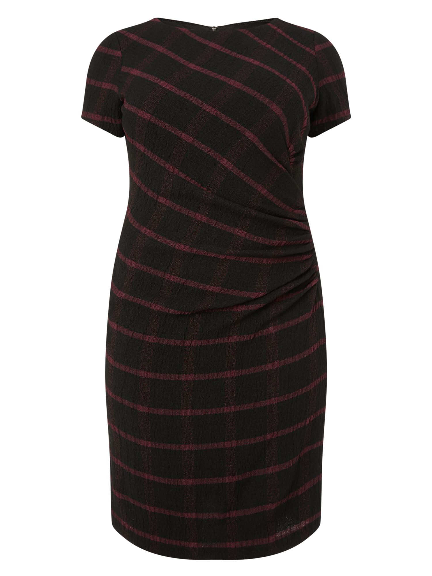 Studio 8 Taylor check dress, Black