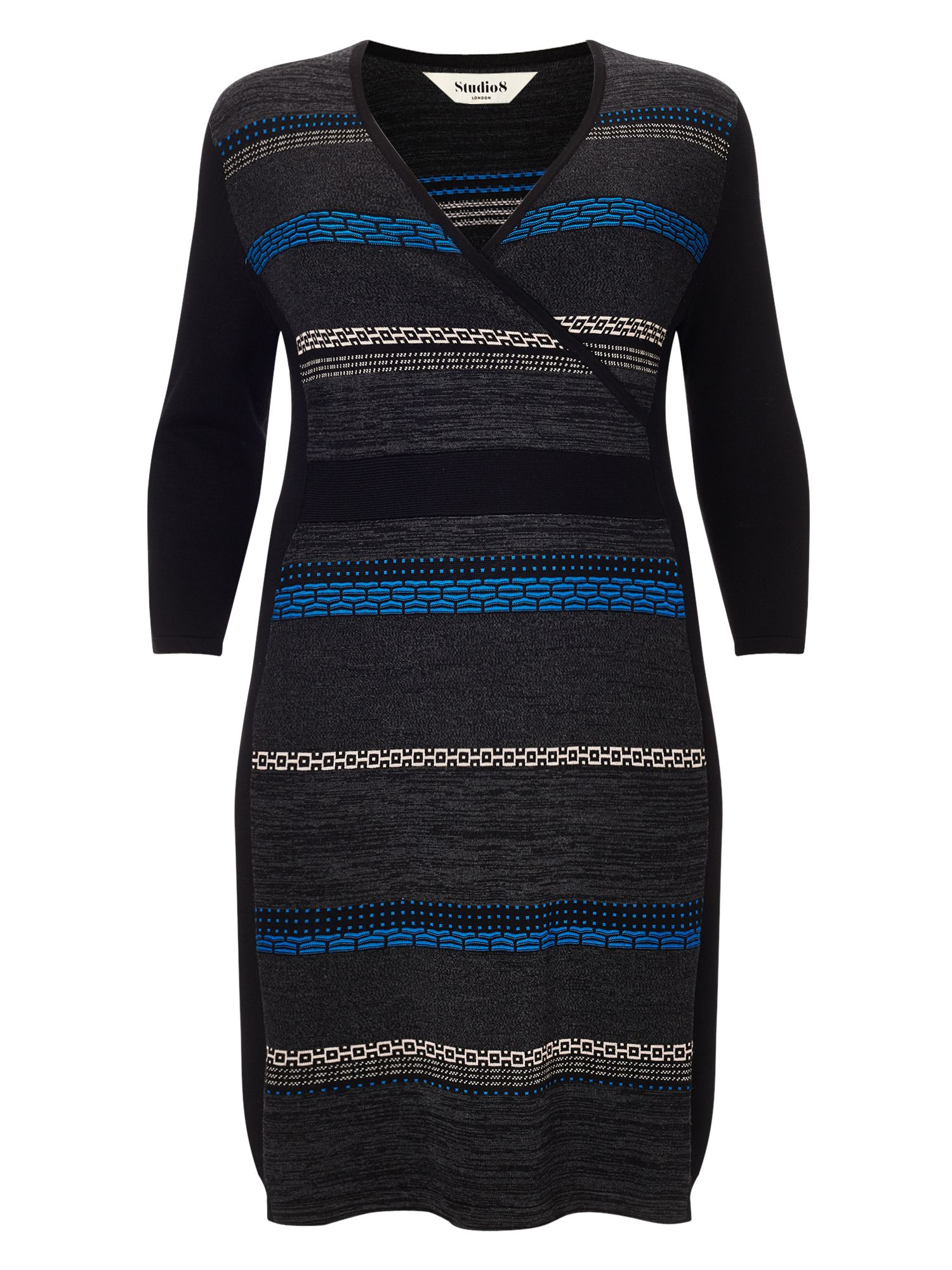 Studio 8 Natalie knit dress, Multi-Coloured