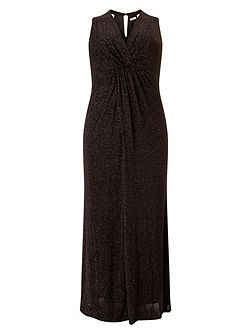 Gayle glitter maxi dress