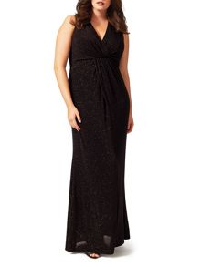 Studio 8 Gayle glitter maxi dress