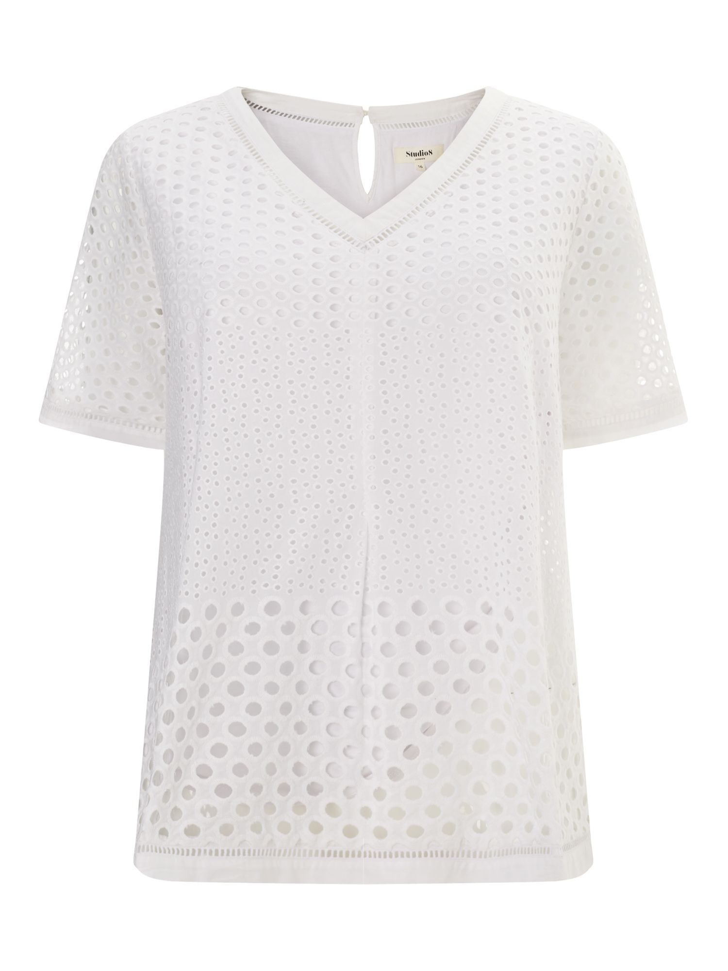 Studio 8 Orlena Top, Winter White