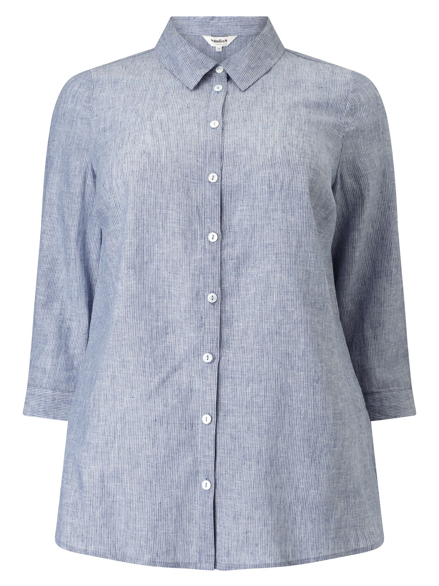 Studio 8 Lacey Shirt, Blue