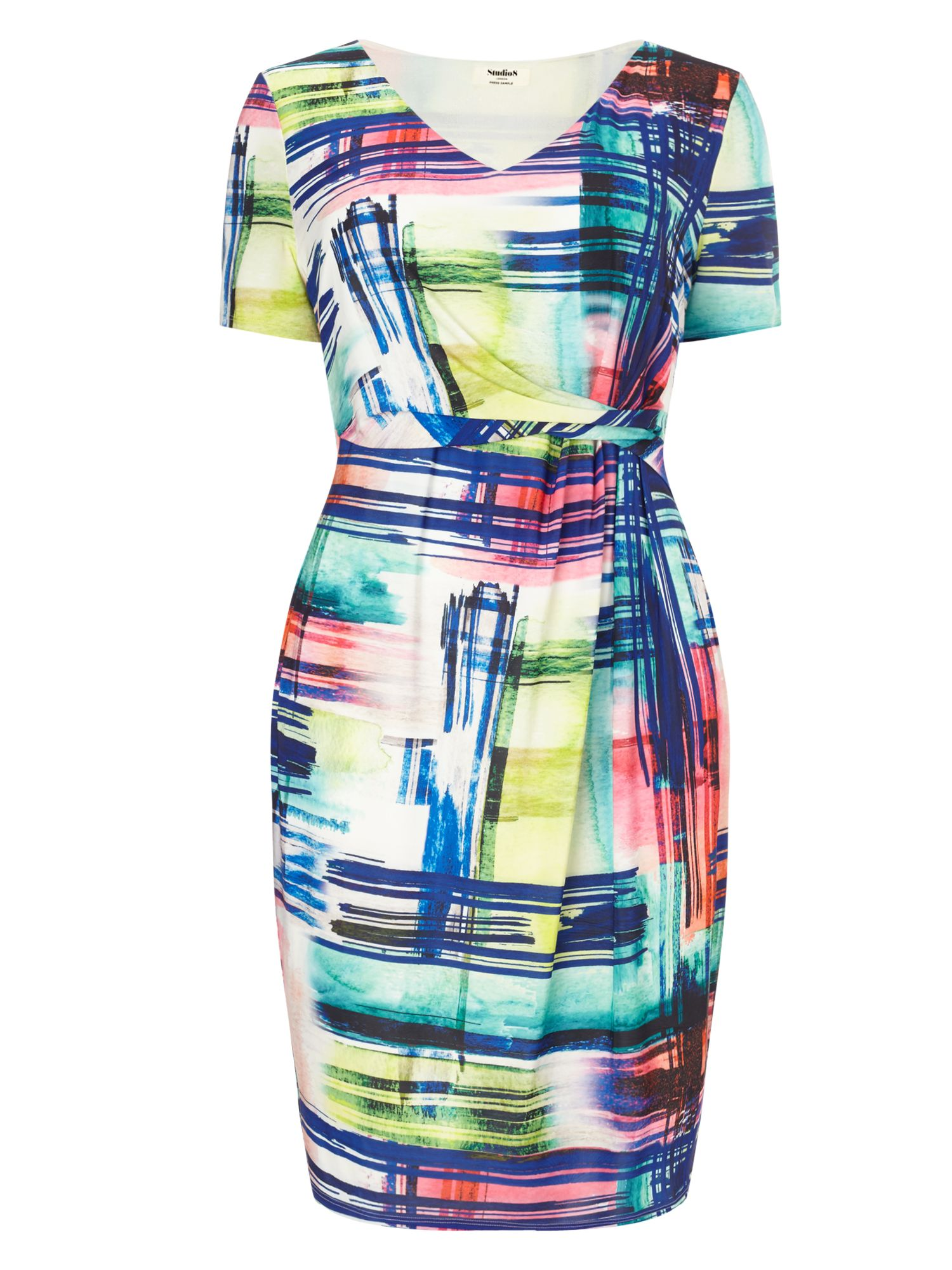 Studio 8 Cailin Dress, Multi-Coloured