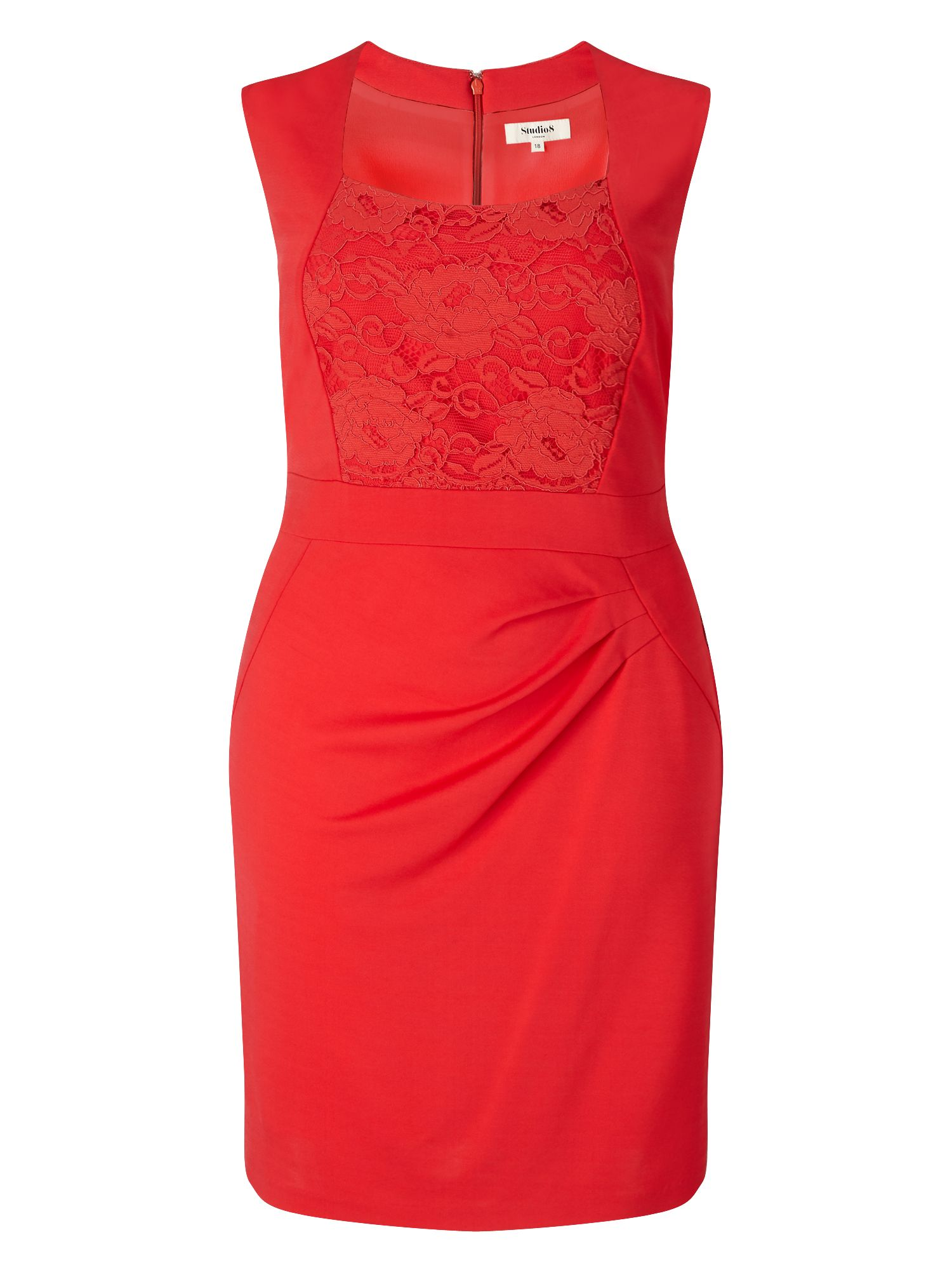 Studio 8 Denver Dress, Red