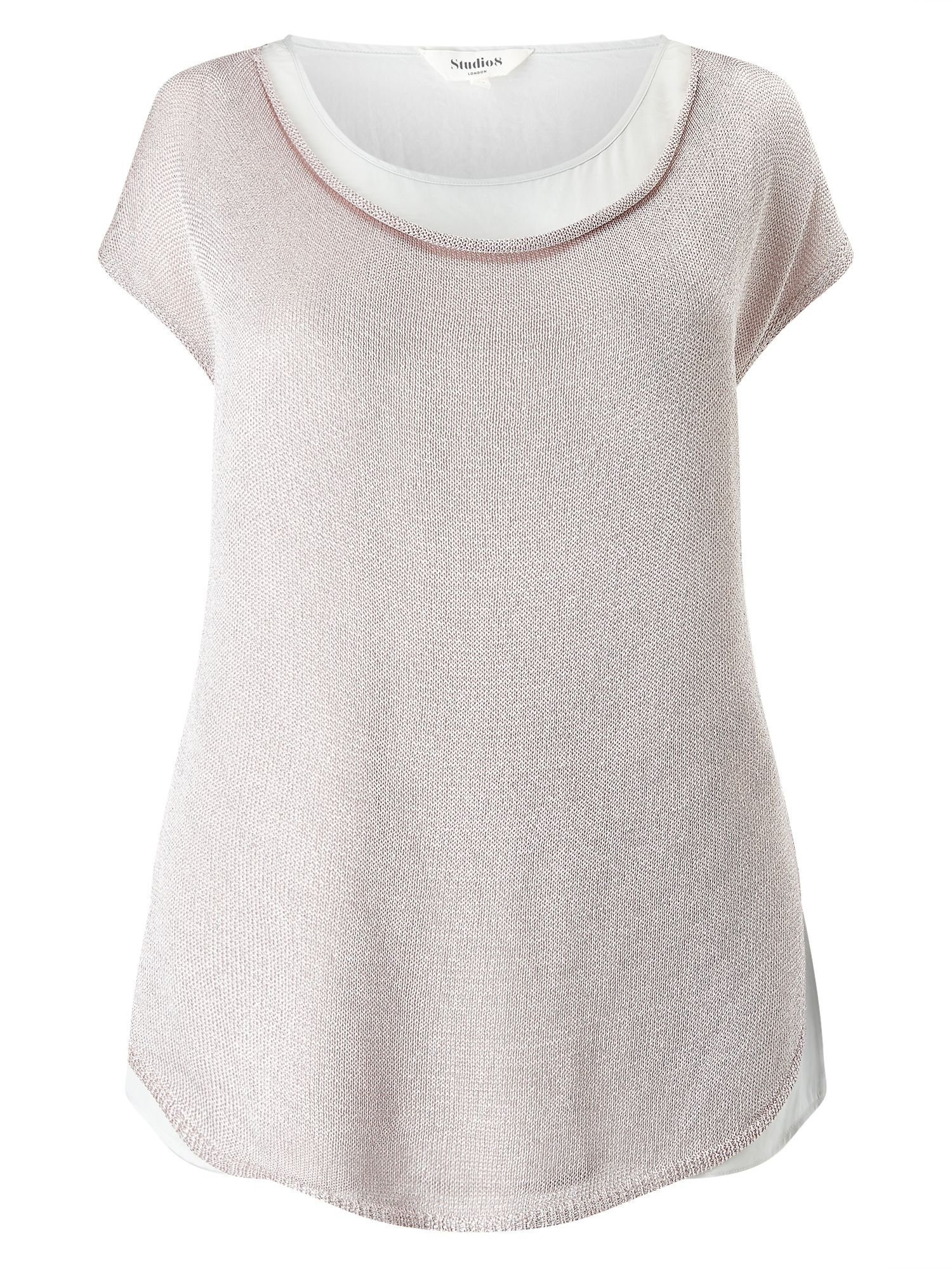Studio 8 Rhian Knit Top, Pink