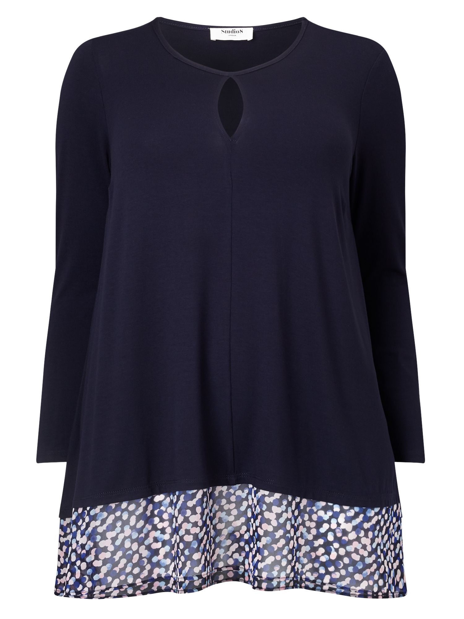 Studio 8 Hattie Top, Blue