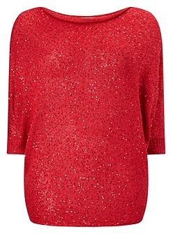 Shawna Sequin Jumper