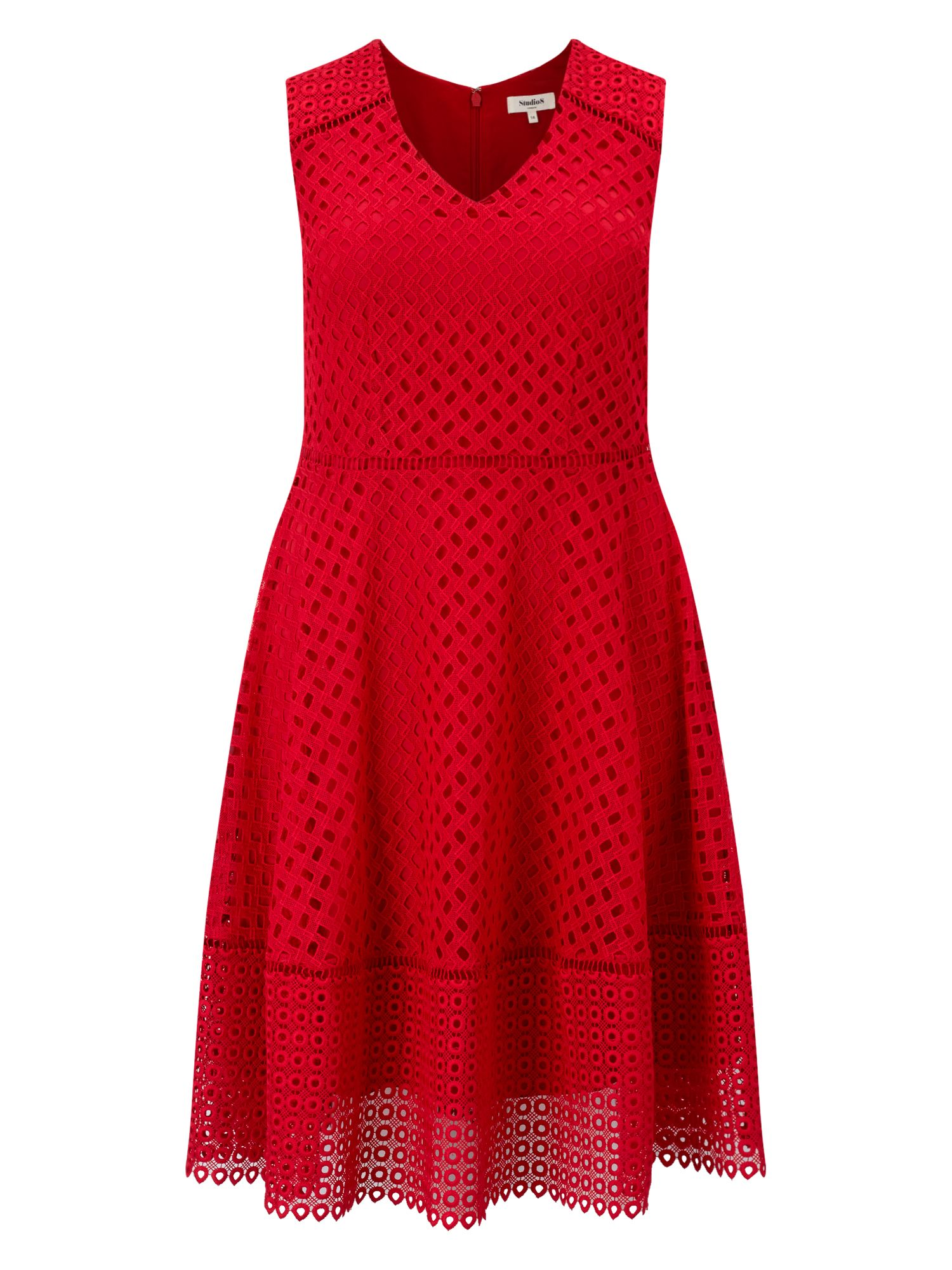 Studio 8 Bailey Dress, Red