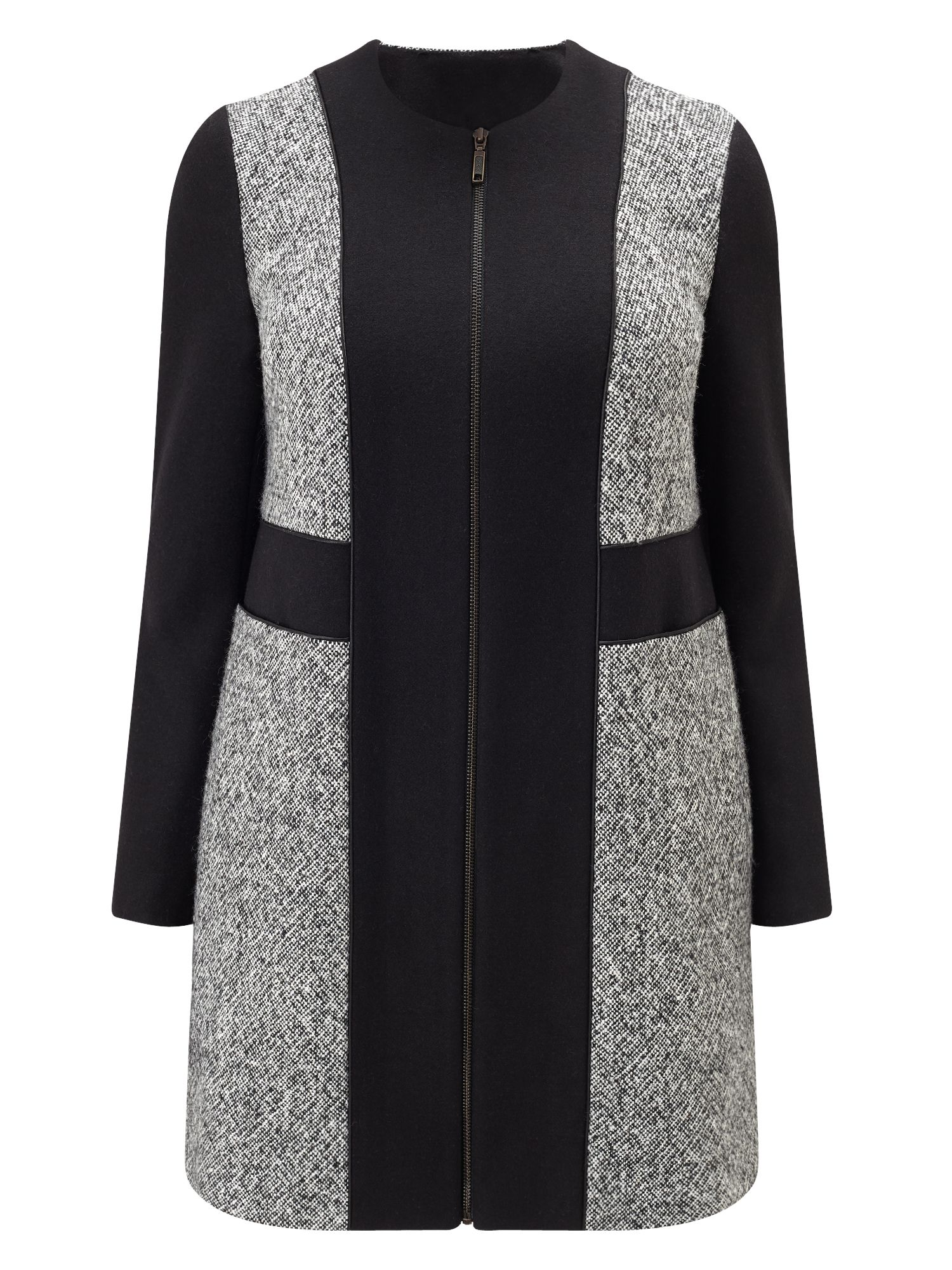 Studio 8 Gwen Coat, Black/White
