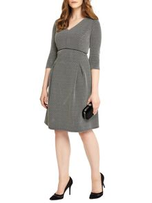 Studio 8 Izzy Jacquard Dress