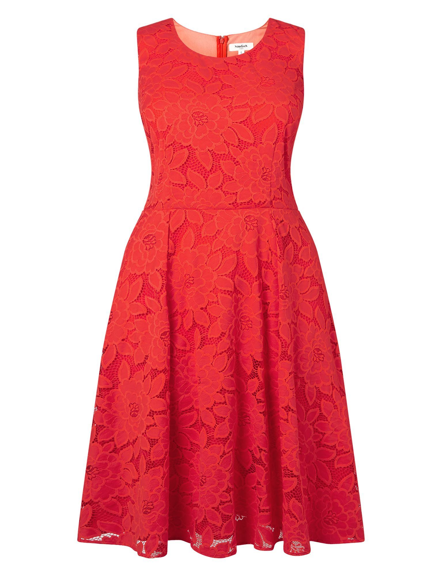 Studio 8 Tulip Dress, Red