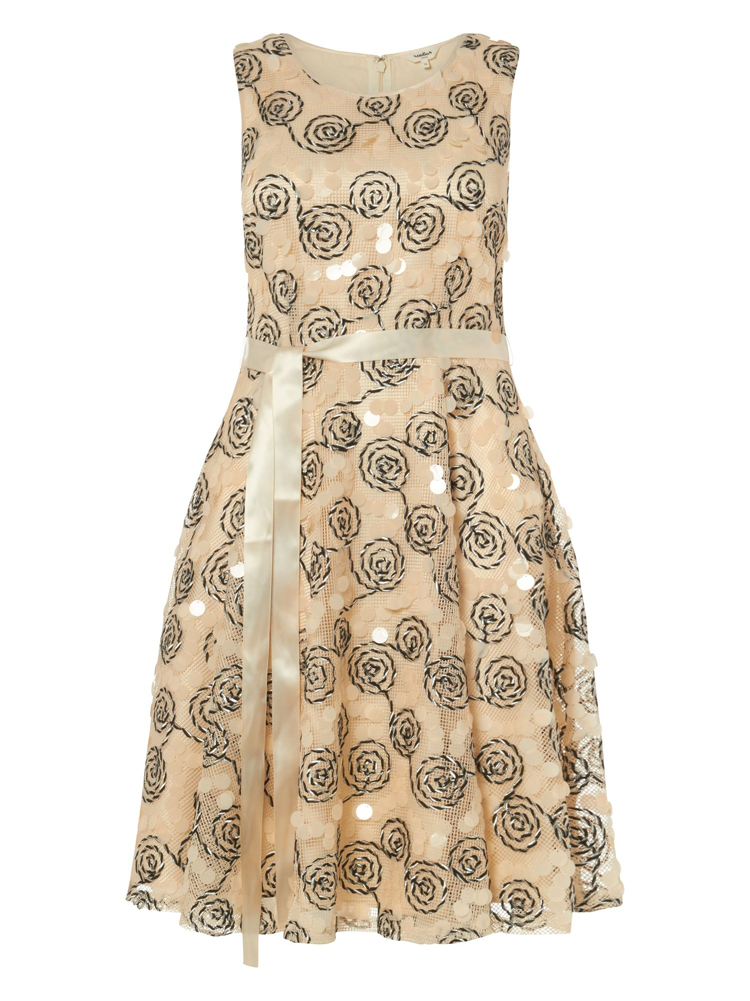 Studio 8 Carrine Dress, Cream