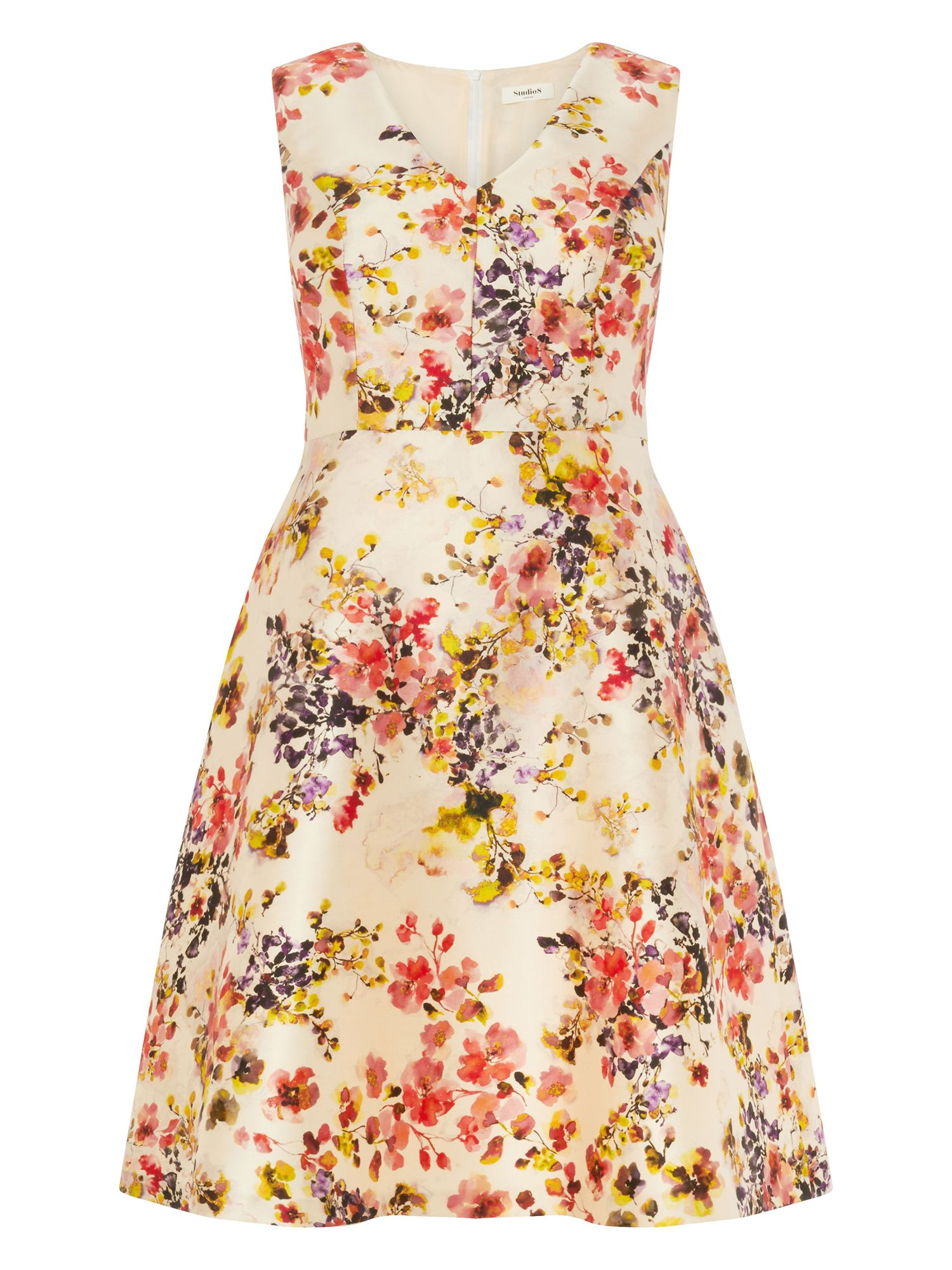 Studio 8 Jennifer Dress, Multi-Coloured