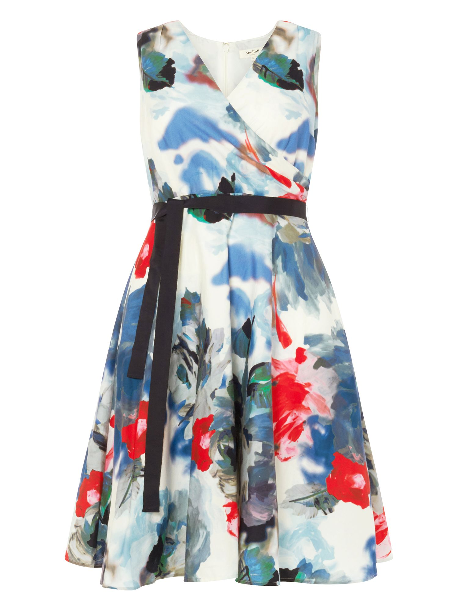 Studio 8 Quinn Dress, Multi-Coloured