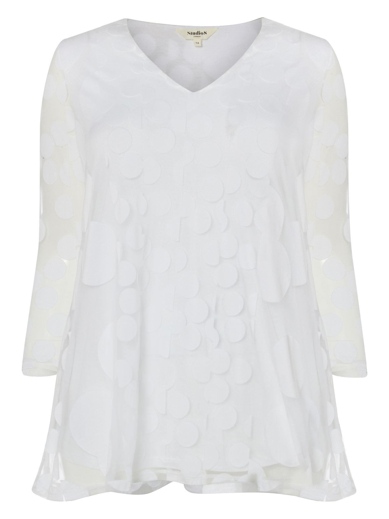 Studio 8 Ashanti Top, White