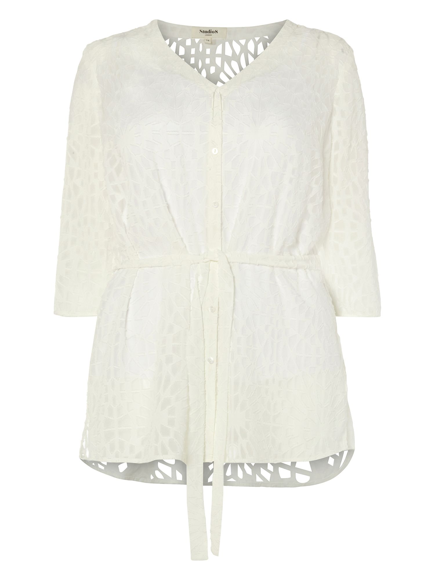 Studio 8 Holly Blouse, White