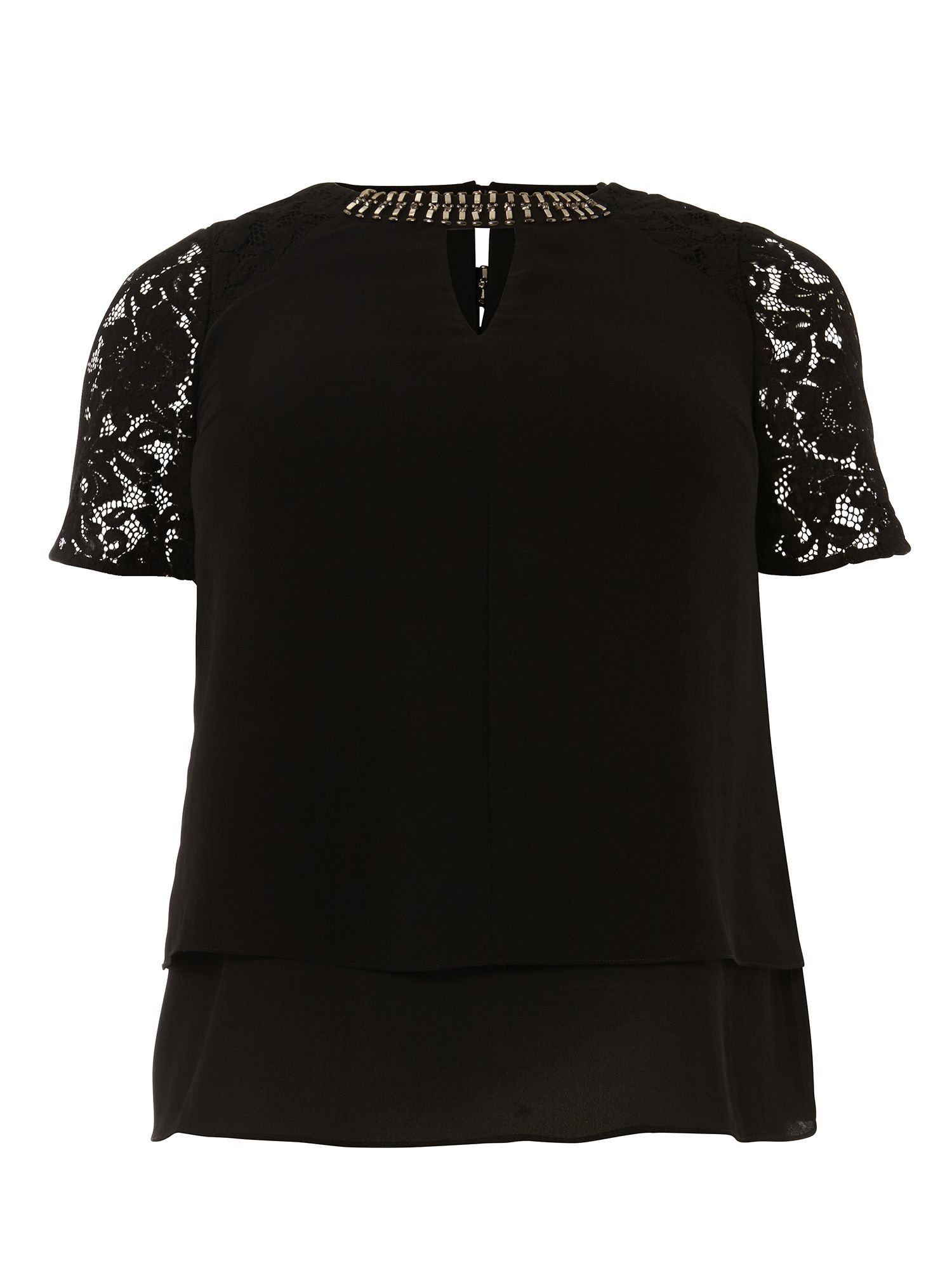 Studio 8 Sasha Top, Black