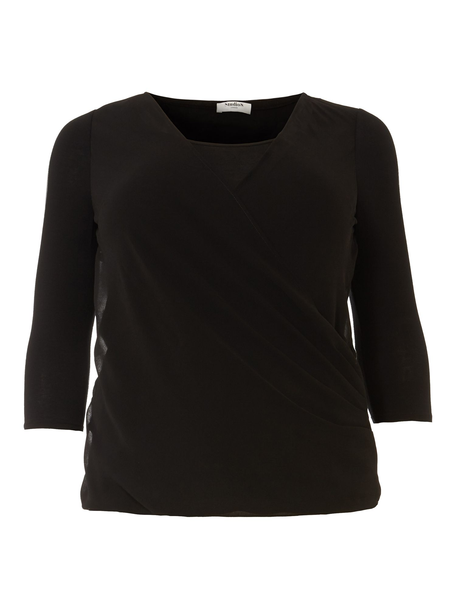 Studio 8 Ashley Top, Black