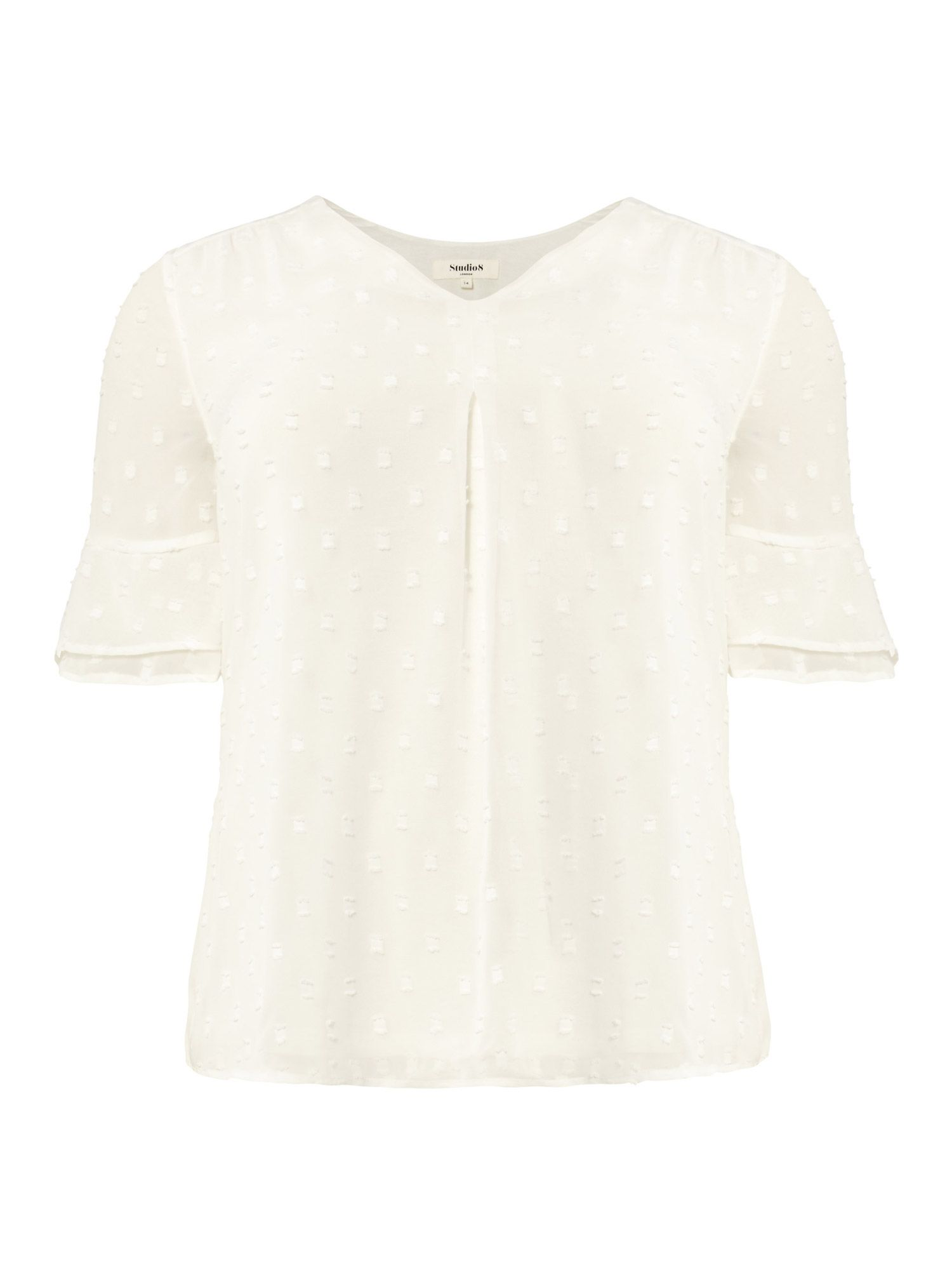 Studio 8 Lisa-Marie Top, Cream