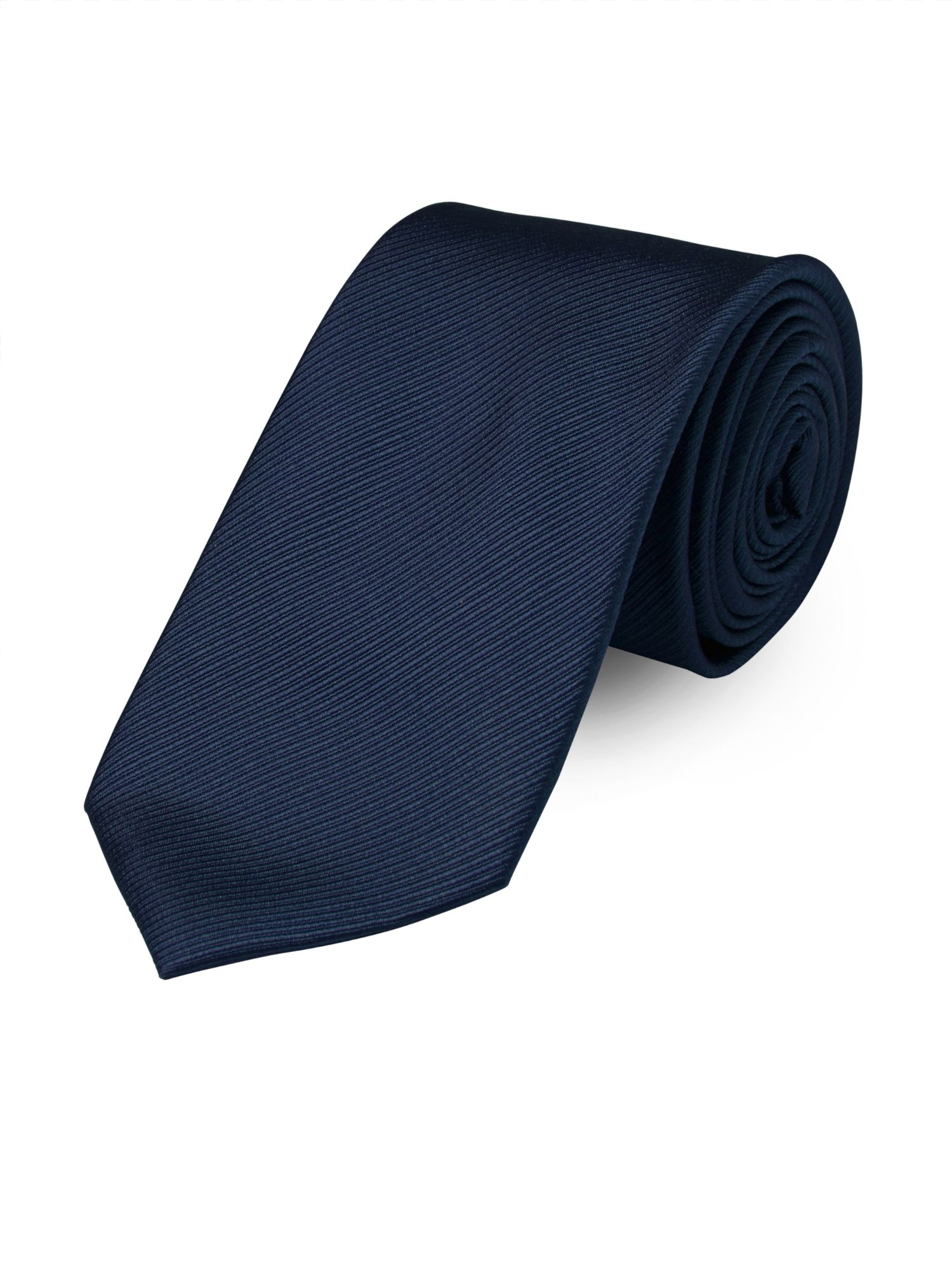 Paul Costelloe Plain Twill French Navy Tie Navy