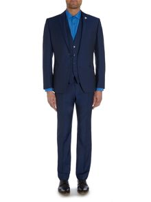 Plain Slim Fit Suit