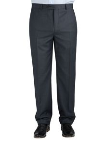 Paul Costelloe Modern Grey Birdseye Suit Trousers